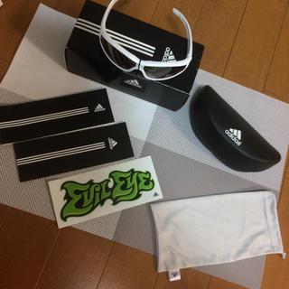 アディダス(adidas)のアディダス kids サングラス ホワイト(サングラス)