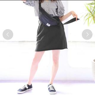 ワンアフターアナザーナイスクラップ(one after another NICE CLAUP)のスウェットスカート NICE CLAUP(ミニスカート)