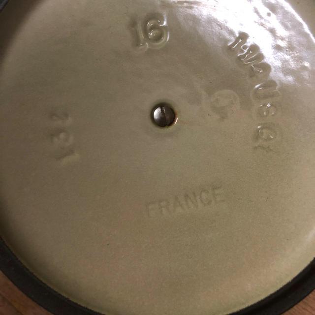 LE CREUSET(ルクルーゼ)のル・クルーゼ16センチ インテリア/住まい/日用品のキッチン/食器(鍋/フライパン)の商品写真