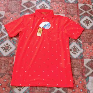 シマムラ(しまむら)のしまむら クロッシー メンズ 半袖ポロシャツ トップス Mサイズ 新品未使用(ポロシャツ)