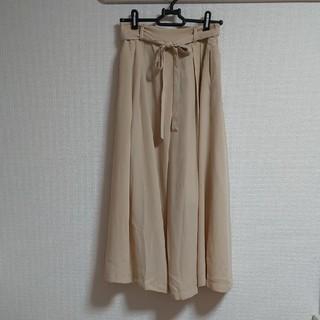 シマムラ(しまむら)の【新品タグ付き】シフォンロングスカート(ロングスカート)