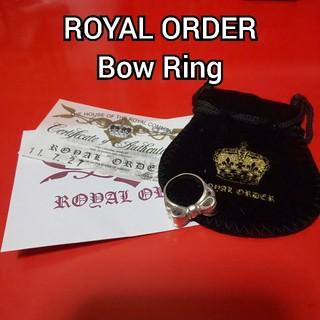 ROYALORDER - ROYAL ORDER Bow Ring