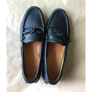 ラルフローレン(Ralph Lauren)のラルフローレン ドライビングシューズ ブラック(ローファー/革靴)