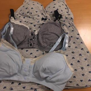 授乳ブラジャー 授乳キャミソール セット(マタニティ下着)