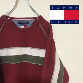 トミーヒルフィガー(TOMMY HILFIGER)のTOMMY JEANS トミージーンズ スウェット スリーブライン(スウェット)