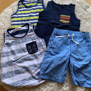 ジーユー(GU)の男の夏服まとめ売り 120(Tシャツ/カットソー)