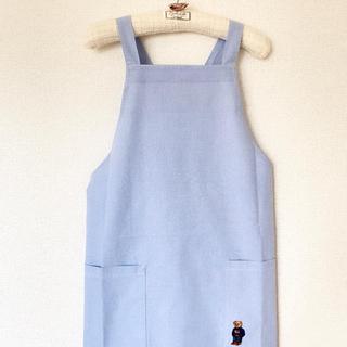 ラルフローレン(Ralph Lauren)の新品♥Ralph Lauren♥ラルフ♥ポロベア エプロン♥ブルー♥レア希少(その他)