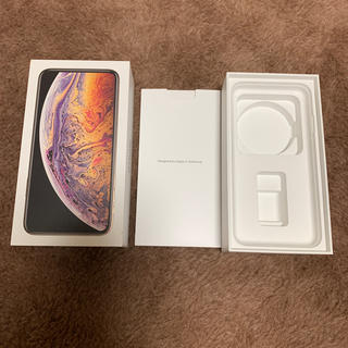アイフォーン(iPhone)のiPhonexs max空箱(その他)