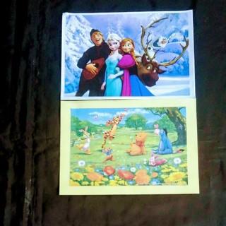 ディズニー(Disney)のアナと雪の女王。くまのプ―さんポスター(ポスター)