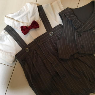 7ddc224ed0af2 ベルメゾン(ベルメゾン)のベビー♡フォーマルロンパース70cm(セレモニードレス スーツ)