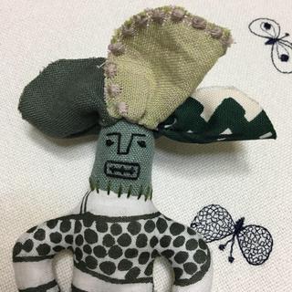 ミナペルホネン(mina perhonen)のミナペルホネン  お人形 ハンドメイド(ぬいぐるみ/人形)