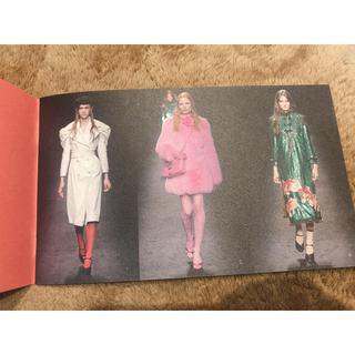 グッチ(Gucci)のGUCCI 2016-2017冬コレクションカタログ(ファッション)