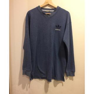 アディダス(adidas)のadidas originals ロンT パイル生地 アディダス(Tシャツ/カットソー(七分/長袖))