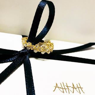 アーカー(AHKAH)のAHKAH フローレントリング 未使用品 アーカー(リング(指輪))