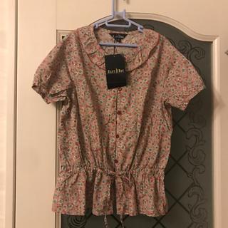 イーストボーイ(EASTBOY)の新品 イーストボーイ ブラウス 140 女児 シャツ 花柄 (ブラウス)