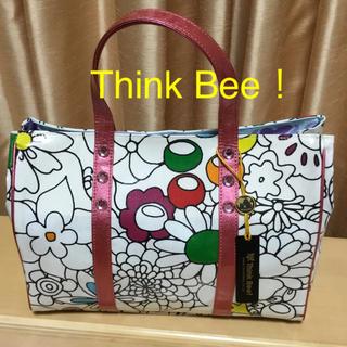シンクビー(Think Bee!)のお値下げ❣️Think Bee シンクビー ナイロンコーティングトートバッグ★(トートバッグ)
