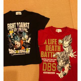 ドラゴンボール(ドラゴンボール)のドラゴンボール超 Tシャツ【2枚セット】サイズ130(Tシャツ/カットソー)