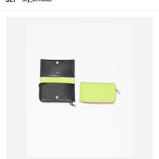 スライ(SLY)のスライノベルティ牛革コインケース(財布)