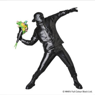 MEDICOM TOY - FLOWER BOMBER  BLACK Ver.  フラワーボンバー