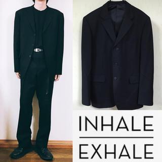 コムデギャルソン(COMME des GARCONS)のINHALE EXHALE セットアップ スーツ ジャケット ワイドシルエット(セットアップ)