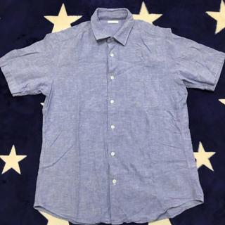 GU - GU リネンブレンドシャツ
