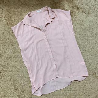 ジーユー(GU)のGU とろみシャツ(シャツ/ブラウス(半袖/袖なし))
