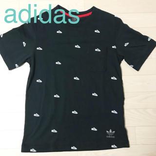 アディダス(adidas)の★美品★adidas オリジナルス Tシャツ 黒 メンズ XS トレフォイル(Tシャツ/カットソー(半袖/袖なし))