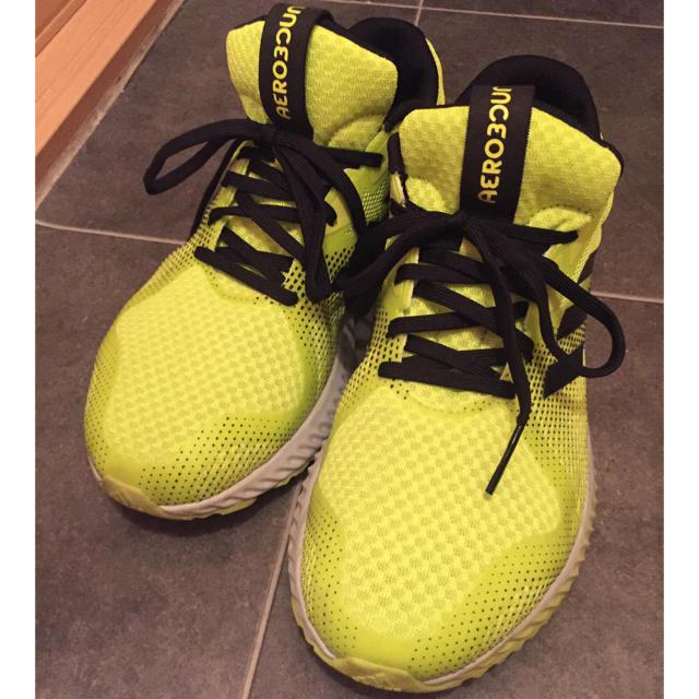 adidas(アディダス)のadidas蛍光イエロー スニーカー メンズの靴/シューズ(スニーカー)の商品写真