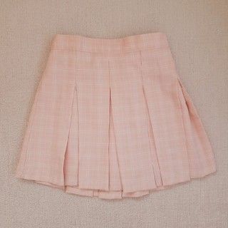 Bubbles - vannie tokyo チェックプリーツスカート