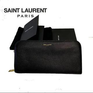 サンローラン(Saint Laurent)のSaint Laurent サンローラン 長財布 ユニセックス レザー ブラック(長財布)