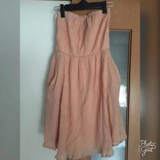 1d40acb02e945 ジュエルチェンジズ(Jewel Changes)のチューブドレス ピンク ジュエルチェンジズ(ひざ
