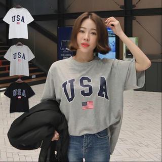 ビューティアンドユースユナイテッドアローズ(BEAUTY&YOUTH UNITED ARROWS)の♡新品♡ USA Tシャツ(Tシャツ/カットソー(半袖/袖なし))