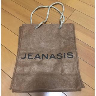 ジーナシス(JEANASIS)のジーナシス JEANASiS ショッパーバック ノベルティ 限定(ショップ袋)
