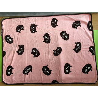 フランフラン(Francfranc)の猫 ピンク ブランケット(おくるみ/ブランケット)