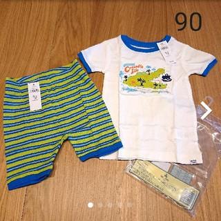 ベビーギャップ(babyGAP)の新品☆90 ベビーギャップ 半袖 パジャマ(パジャマ)