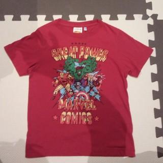 ジーユー(GU)のマーベル アベンジャーズ アイアンマン Tシャツ(Tシャツ/カットソー)