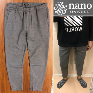 nano・universe - nano universイージーパンツジョガーパンツ  メンズ送料込