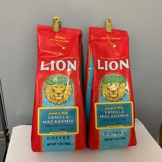 ライオン(LION)のライオンコーヒー バニラマカデミア 198g × 2袋(コーヒー)