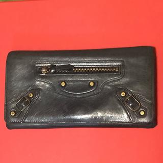 バレンシアガ(Balenciaga)のバレンシアガ  長財布 黒(長財布)