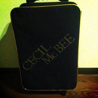 セシルマクビー(CECIL McBEE)のCECIL McBEE キャリーケース(スーツケース/キャリーバッグ)