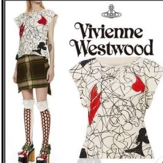 ヴィヴィアンウエストウッド(Vivienne Westwood)の新品 タグ付 vivienne westwood トランプ 半袖 カットソー(カットソー(半袖/袖なし))