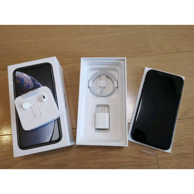 iphoneケース tpu - iPhone - iPhone XR 128G simフリー ブラック Blackの通販 by my shop!|アイフォーンならラクマ