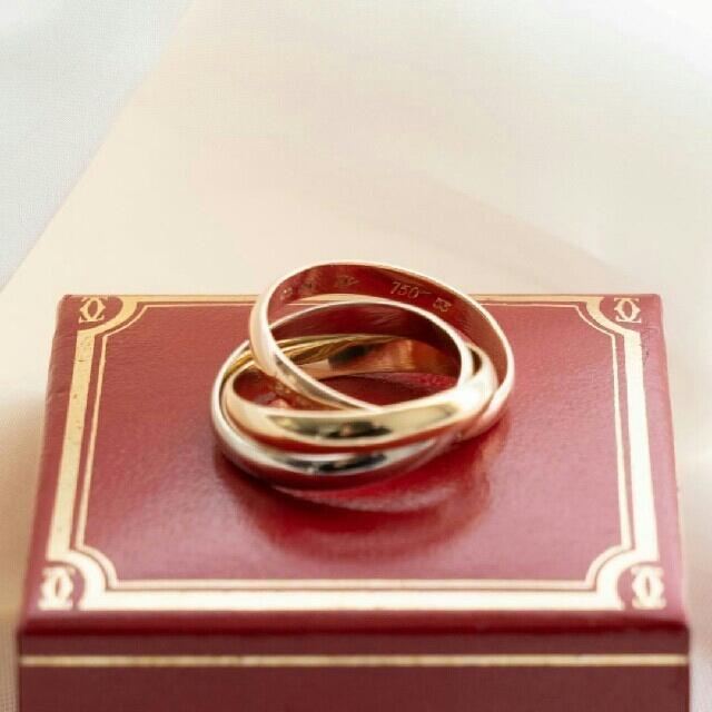 Cartier(カルティエ)のカルティエ トリニティ リング、クラシック  レディースのアクセサリー(リング(指輪))の商品写真