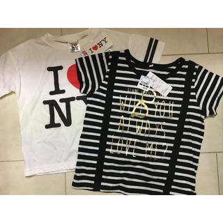 シマムラ(しまむら)のティシャツ 2枚セット(Tシャツ/カットソー)