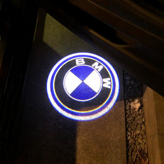ビーエムダブリュー(BMW)のbmw 純正交換 ウェルカムライト2個セット BMW ロゴ(車外アクセサリ)