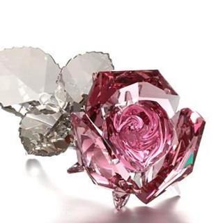 SWAROVSKI - スワロフスキー バラ 置物