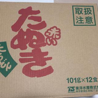 ニッシンショクヒン(日清食品)の赤いたぬき 12個(麺類)