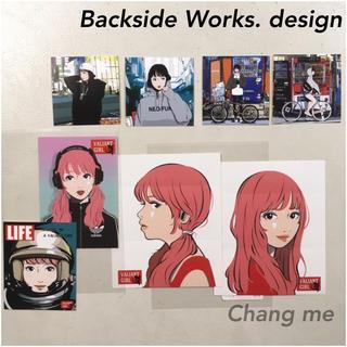 フォーサーティ(430)のBackside Works 5/3個展購入 ステッカー セット 新品(その他)