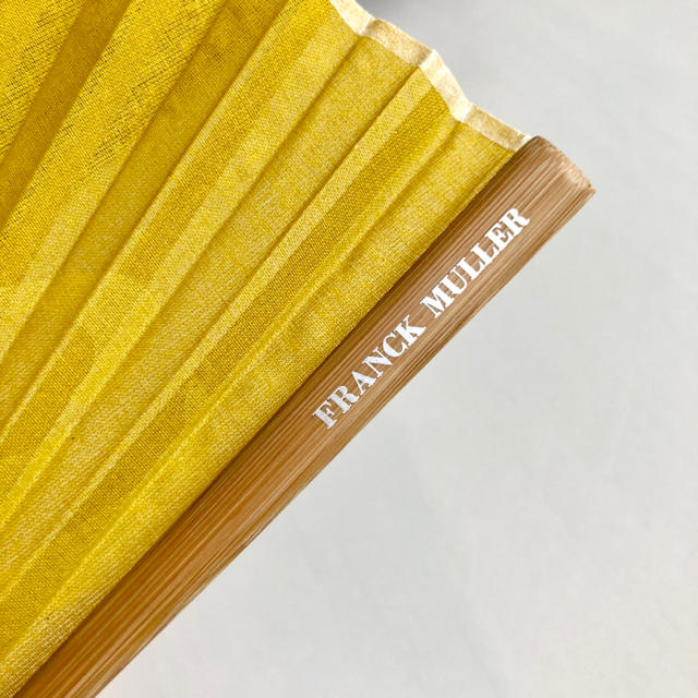 FRANCK MULLER(フランクミュラー)のFRANCK MULLER 布扇子 レディースのファッション小物(腕時計)の商品写真