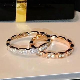 CHANEL - 5A AAAAA+ CZ  最高品質 ジルコニア リング 指輪